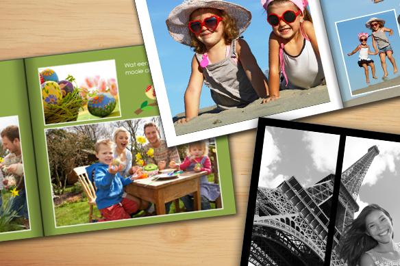 Fotoboek achtergronden
