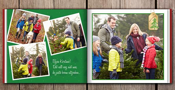 Kerst in je fotoboek