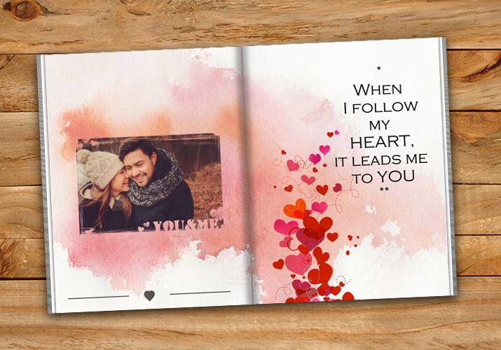 Maak een CEWE FOTOBOEK voor jouw Valentijn!